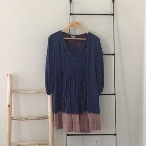 Anthropologie dress size 2 / 6 long sleeve
